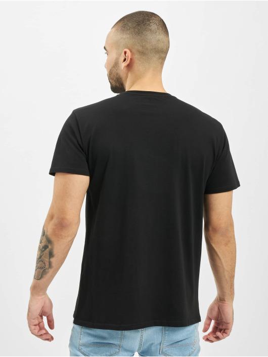 Merchcode t-shirt Star Wars Rainbow Logo zwart