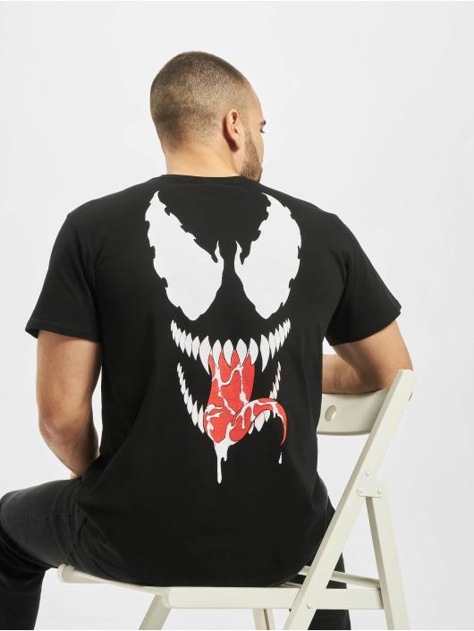 Merchcode t-shirt Face zwart