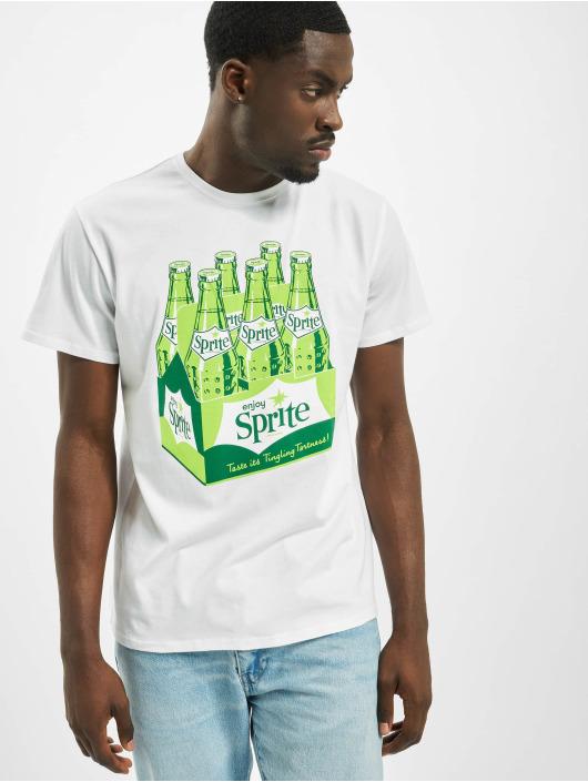 Merchcode T-shirts Sprite Bottles hvid