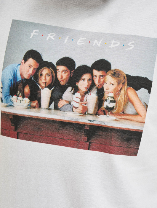 Merchcode T-Shirty Friends Group bialy