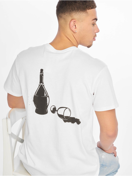 Merchcode T-Shirty Godfather Wine bialy