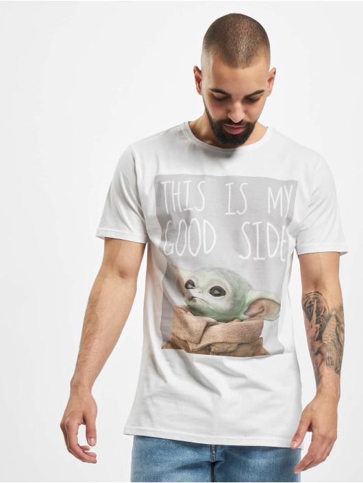 Merchcode T-Shirty Baby Yoda Good Side bialy