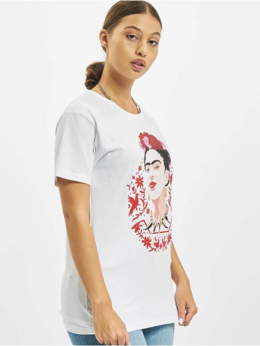 Merchcode T-Shirty Frida Kahlo Magic bialy
