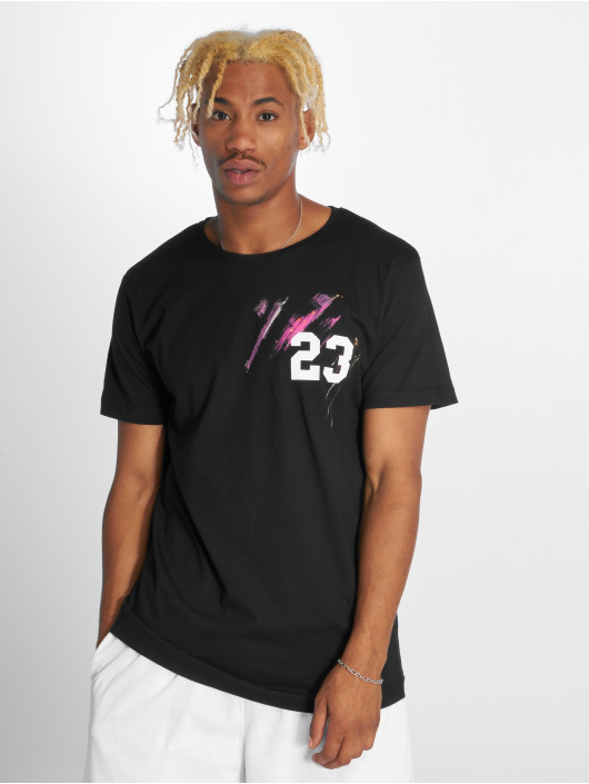 Merchcode T-Shirty Michael 23 czarny