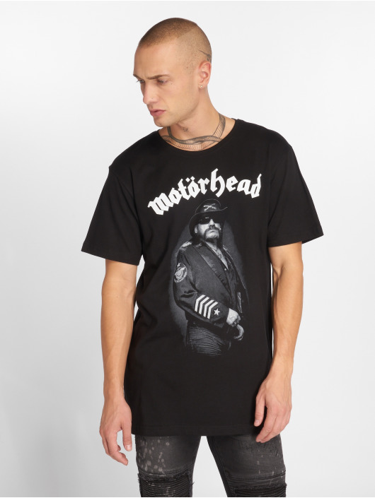 Merchcode T-Shirty Motörhead Lemmy Warpig czarny