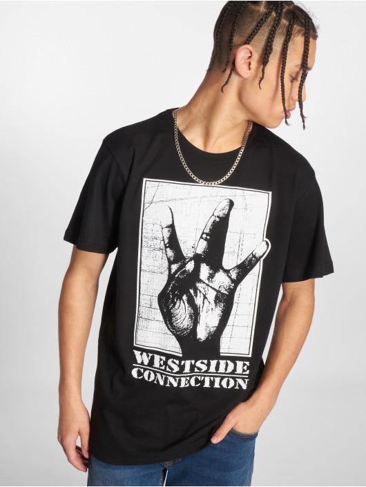 Merchcode T-Shirty Westside Connection czarny