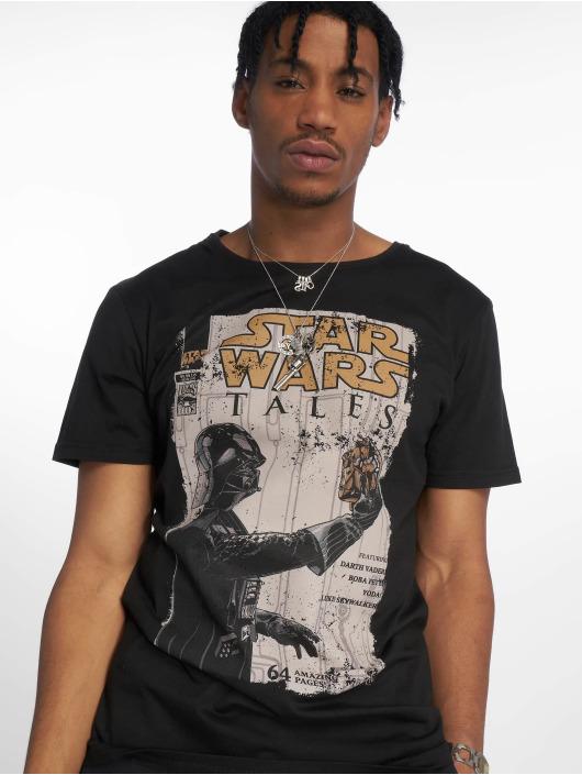 Merchcode T-Shirty Star Wars Darth Vader Tales czarny