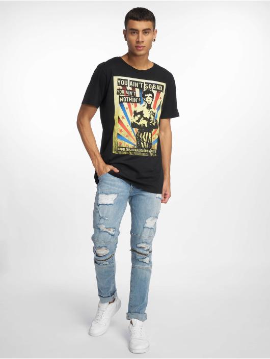 Merchcode T-Shirty Rocky You Ain´t So Bad czarny
