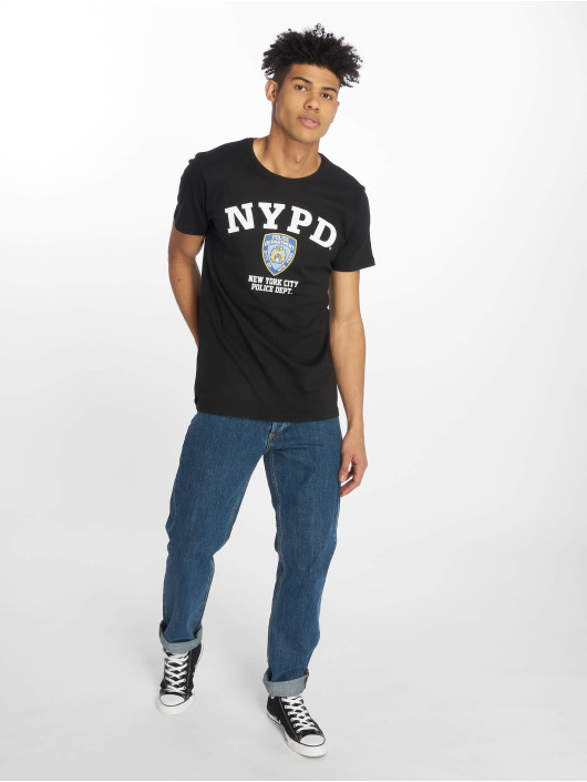 Merchcode T-Shirty Nypd Logo czarny