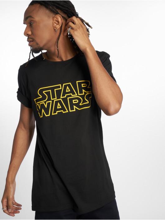 Merchcode T-Shirty Star Wars czarny