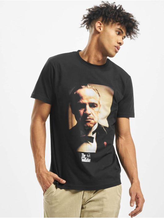 Merchcode T-Shirty Godfather Portrait czarny