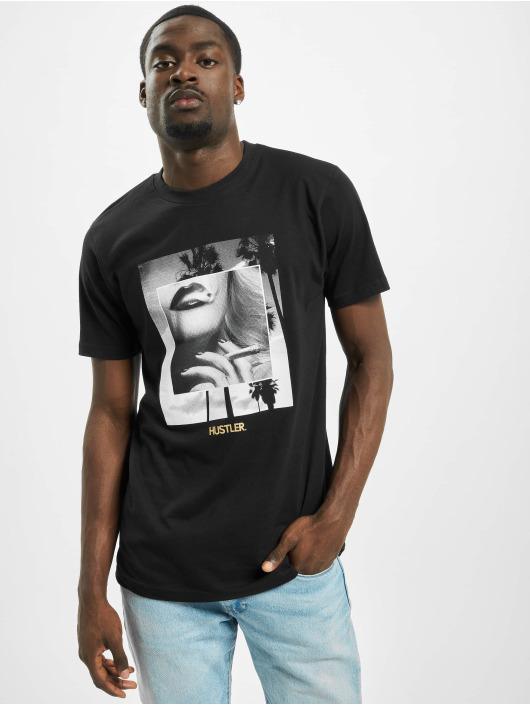 Merchcode T-Shirty Hustler Smoke czarny