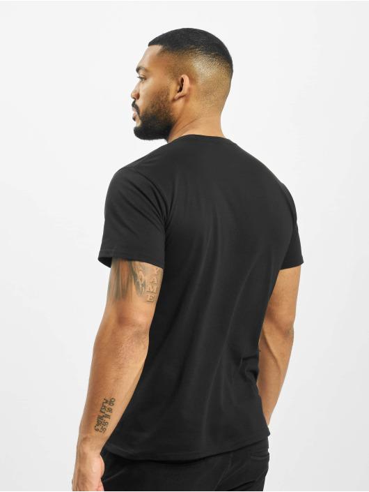 Merchcode T-Shirty Michael Playing czarny