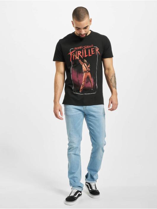 Merchcode T-Shirty Michael Jackson Thriller Video czarny