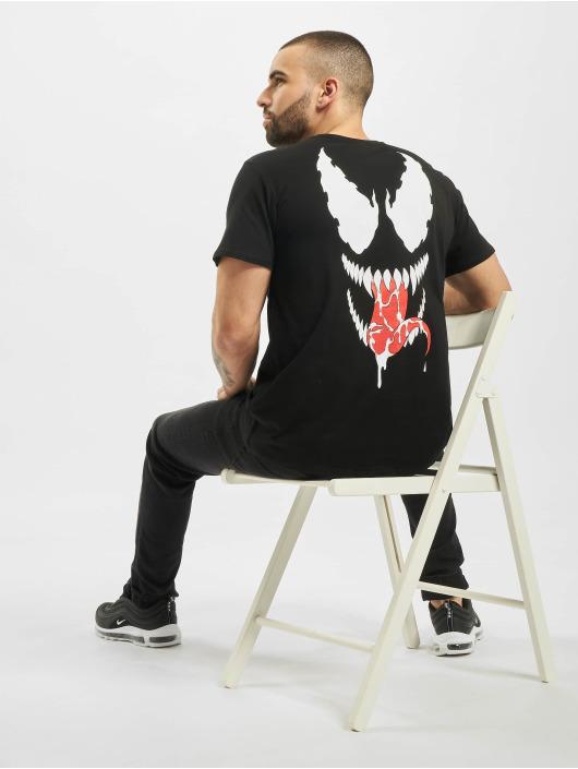 Merchcode T-Shirty Face czarny