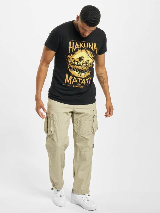 Merchcode T-Shirty King czarny
