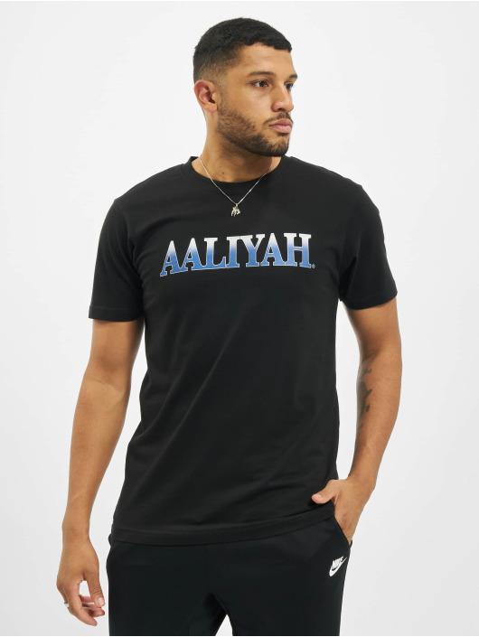 Merchcode T-Shirty Aaliyah Snake czarny