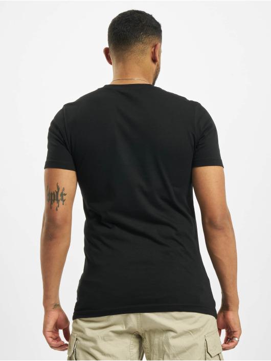 Merchcode T-Shirty Coca Cola Logo Emb czarny