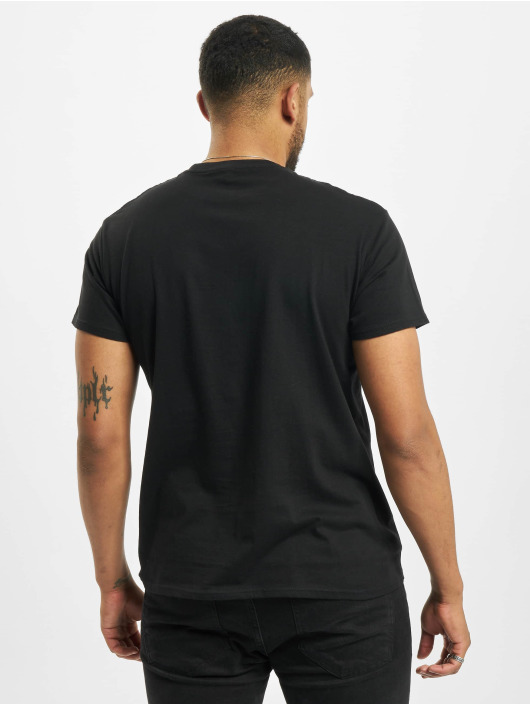 Merchcode T-Shirty Linkin Park Distressed Logo czarny
