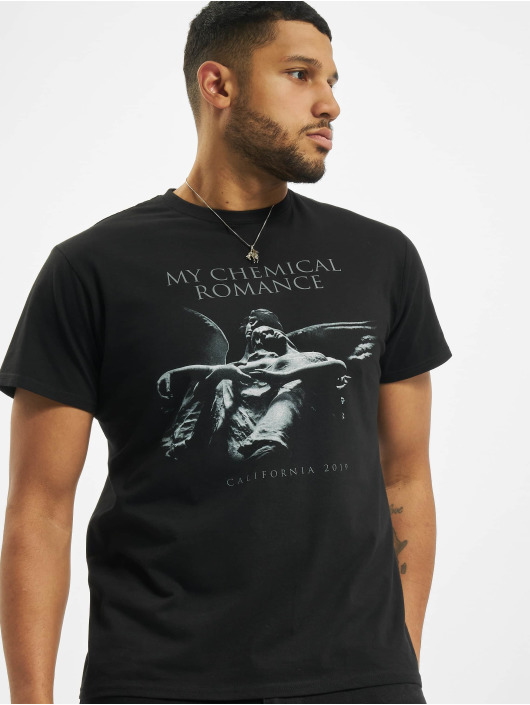 Merchcode T-Shirty My Chemical Romance Shrine Angel czarny