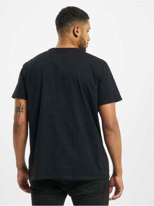 Merchcode T-Shirty Back To The Future Outatime czarny
