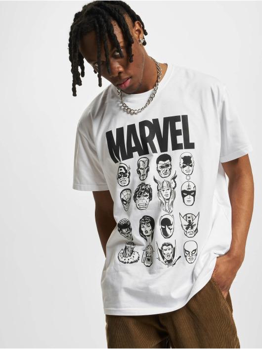 Merchcode T-skjorter Marvel hvit