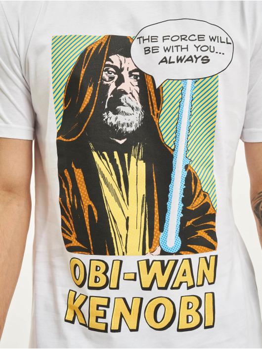 Merchcode T-skjorter Obi Wan Kanobi hvit