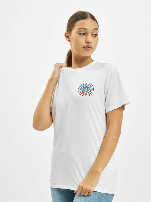 Merchcode T-skjorter Where Is Wally Corridors Of Time hvit