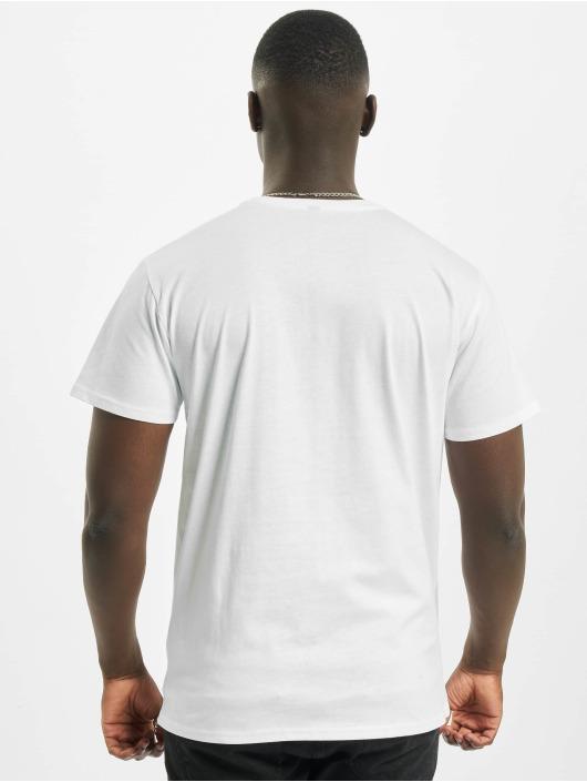 Merchcode T-skjorter Back To The Future Shiny Logo hvit