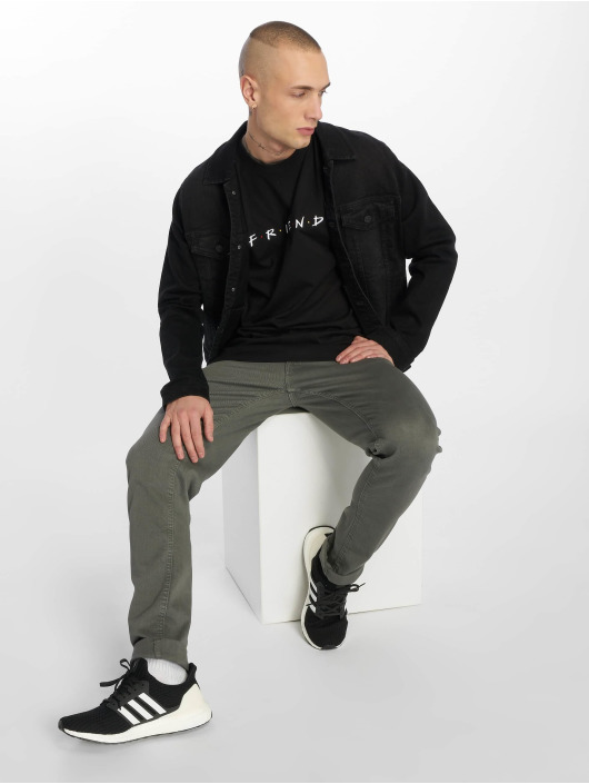 Merchcode T-skjorter Friends Logo Emb svart