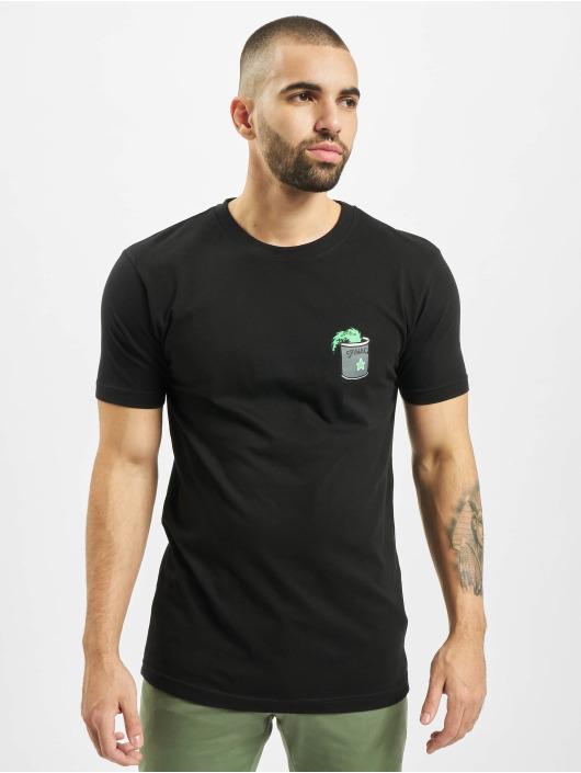 Merchcode T-skjorter Popeye Stay Strong svart