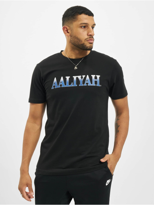 Merchcode T-skjorter Aaliyah Snake svart