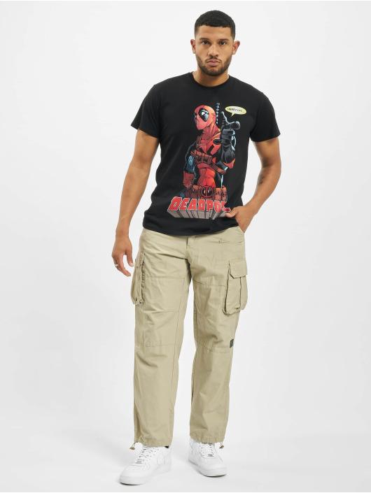 Merchcode T-skjorter Deadpool Hey You svart