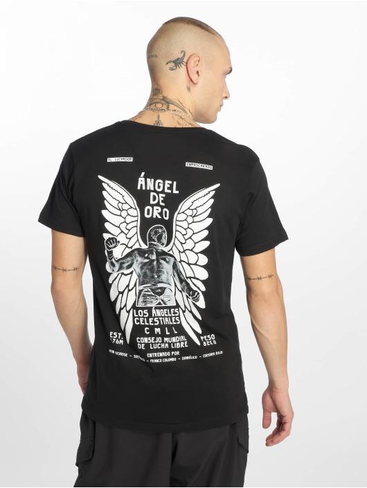 Merchcode Tričká Angel èierna