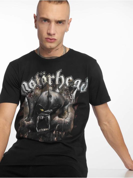 Merchcode Tričká Motörhead Saw èierna