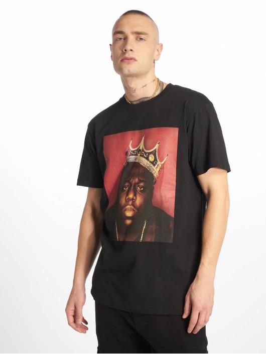 Merchcode Tričká Notorious B.I.G. Crown èierna