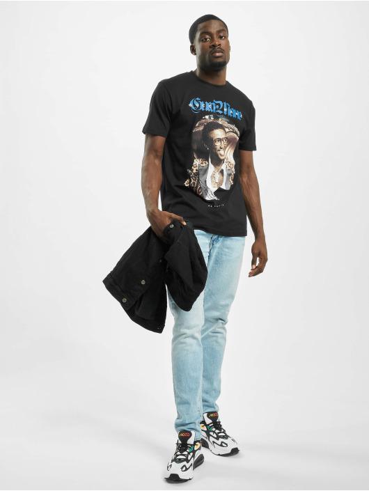 Merchcode Tričká Gucci Mane Leopard èierna