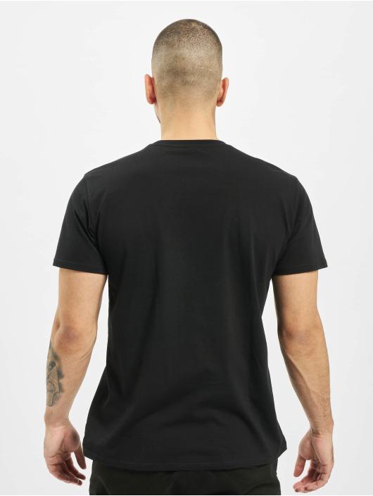Merchcode Tričká Black Panther Spray Headshot èierna