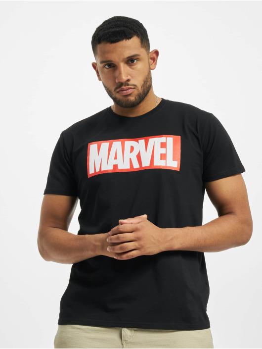 Merchcode Tričká Marvel Logo èierna