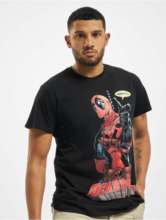 Merchcode Tričká Deadpool Hey You èierna
