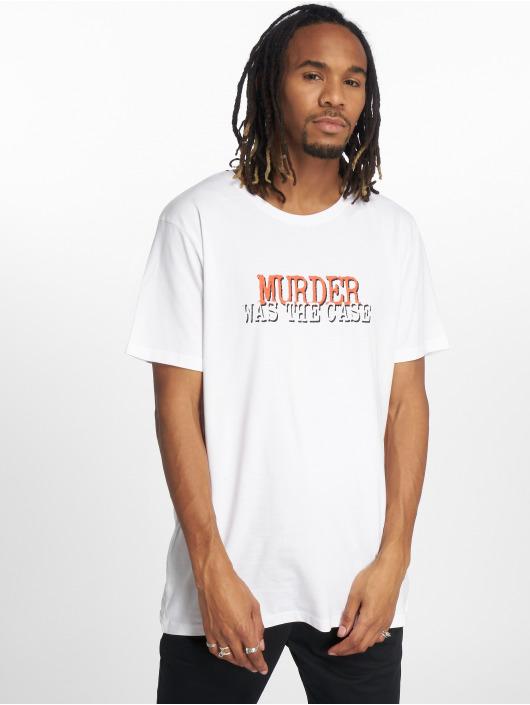 Merchcode Tričká Snoop Dogg Collage biela