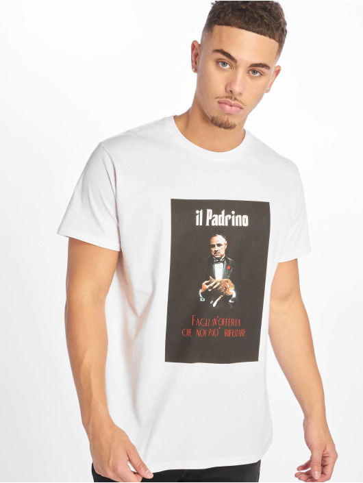 Merchcode Tričká Godfather Il Padrino biela