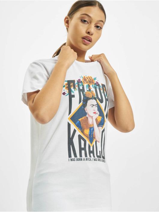 Merchcode Tričká Frida Kahlo Born biela