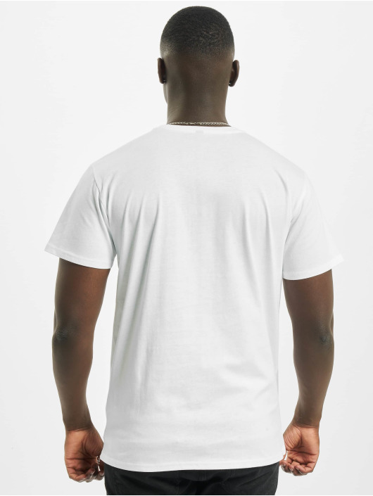 Merchcode Tričká Back To The Future Shiny Logo biela