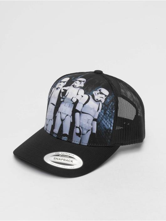 Merchcode Trucker Cap Stormtrooper Retro schwarz