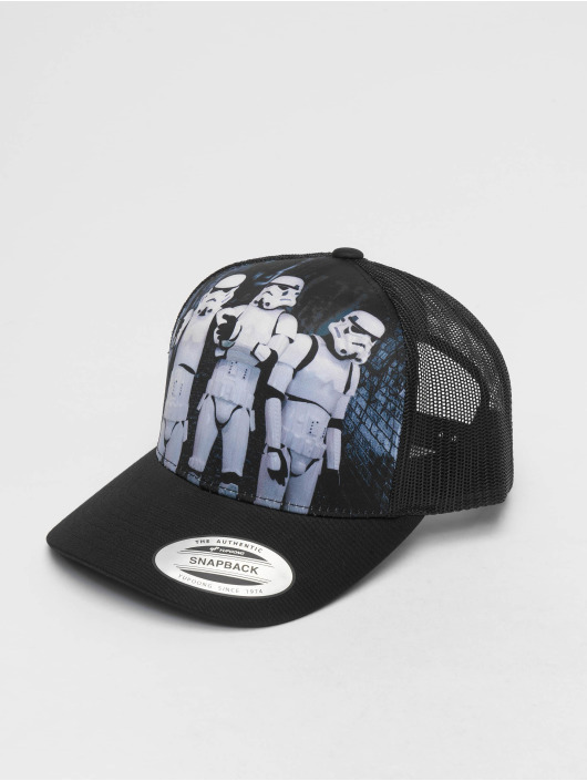 Merchcode Trucker Caps Stormtrooper Retro svart