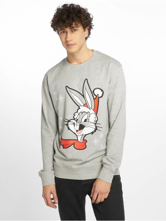 Merchcode trui Bugs Bunny Christmas grijs