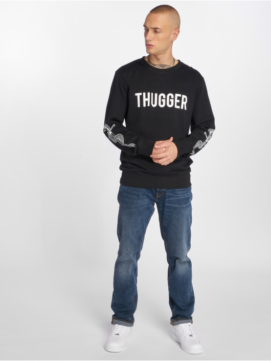 Merchcode trui Thugger Snake Sword zwart
