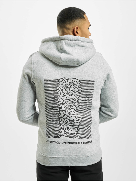 Merchcode Vetoketjuhupparit Joy Division Up harmaa