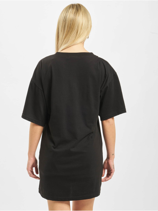 Missguided Šaty Oversized Shortsleeve T-Shirt Need Money èierna